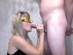 Sweet loving blowjob for my husband