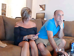 British couple on webcam